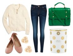honeycomb by peppahwood on Polyvore featuring Madewell, Ted Baker, ASOS, J.Crew and Kate Spade