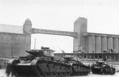 Three Neubaufahrzeuge arriving in Oslo Harbour, April 1940