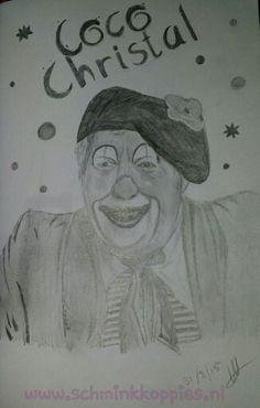 Nico Dinkgreve het was een eer om je te mogen tekenen. Jij vroeg mij clown te tekenen. Tja toen was de keus snel gemaakt.