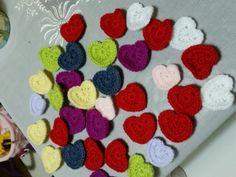 Sevgi her zaman daim olsun❤ #heart #crochet