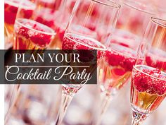 Plan your #cocktailparty with Local #Party #Planner. The ultimate resource for…
