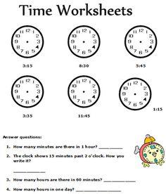 Free Printable 1st Grade Math Worksheets #1