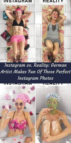 There's no doubt that most of us know that feeling when you suddenly catch yourself questioning your life choices while scrolling through Instagram photos. #Instagram #GermanArtist #Fun #InstagramPhotos Funny Fails, Funny Jokes, Hilarious, Expectation Vs Reality, Life Choices, Photo Series, Fitness Transformation, Butt Workout, Fun Facts