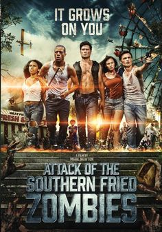 Attack Of The Southern Fried Zombies (Hindi) , Attack Of The Southern Fried Zombies (Hindi) Lonnie, a crop duster pilot, must lead a mismatched group of survivors to escape the deadly zombie horde .