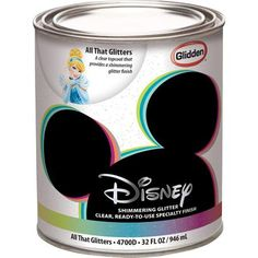 Disney All That Glitters Interior Specialty Paint - possibly use on dressers!