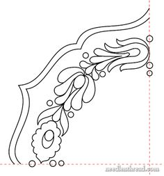 Hungarian Hand Embroidery Pattern #5