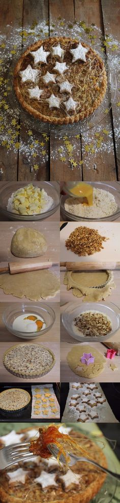 Rica tarta de nueces / http://cakesparati.blogspot.com