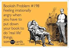 Irrational? NO! The anger is REAL! Everyone just shut up and let me read!