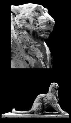 Snow leopard by Jean Baptiste Vendamme
