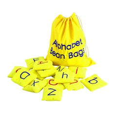 Kids will love tossing around their ABCs, learning letters, and building words…