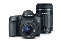 Canon EOS 70D EF-S 18-55mm IS STM Kit with EF-S 55-250mm f/4-5.6 IS STM | Canon Online Store 70d, Canon Eos, Binoculars, Technology, Store, Stuff To Buy, Gadgets, Photography, Appliances