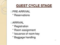 Sections of front office department in hotels | Front office | Front