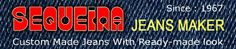 SQ Jeans™ is the brand of Sequeira Jeans Maker, Surat (India), established in 1967 initially as Sequeira Tailor. We started making Custom Made Jeans for our customers in our home town in 1992. The response was great, and further we expanded our custom jeans manufacturing work by establish latest machineries especially for denims & our own denim garment processing laundry, the first in our town Surat.