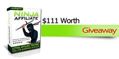 Awesome chance to win Ninja Affiliate Premium Plugin worth $37 for free