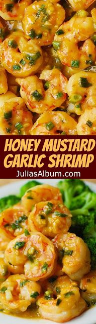 Honey Mustard Garlic Shrimp - Food And Cake Recipes