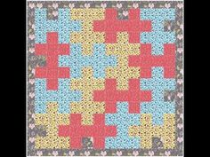 Jigsaw Puzzle Quilt Pattern Video Tutorial