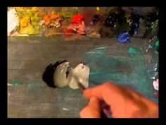How to Mix Black Oil Paint : Painting-Course.com - YouTube