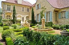 Sandy Springs residence, Atlanta. Architect Norman Askins. Landscapes by Joe A. Gayle & Associates.