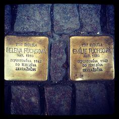 Stolpersteine Prague