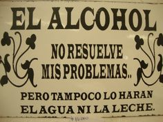letrero enlozado French Quotes, Spanish Quotes, Mexican Humor, Feelings Words, Vintage Bar, Bar Signs, Home Signs, Creative Crafts, Funny Quotes