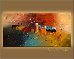 abstract art paintings | Celebration|Interior Design Art Paintings|Art Deco|Modern Interior ...