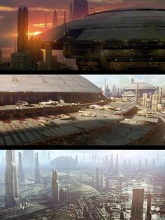 Awesome Star Wars Matte Paintings - EPISODE III http://www.dusso.com