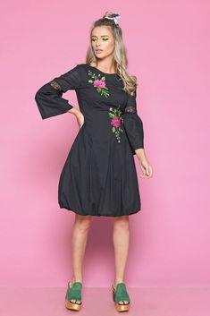 Rochie TARMA N - Mathilde Cold Shoulder Dress, High Neck Dress, Clothing, Summer, Dresses, Fashion, Turtleneck Dress, Outfits, Vestidos