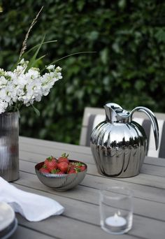A relaxed summer celebration with Georg Jensen's 'Bernadotte' collection   These Four Walls blog