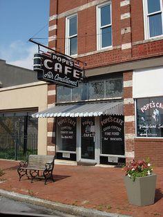 Popes Cafe, Shelbyville TN   Flickr - Photo Sharing!