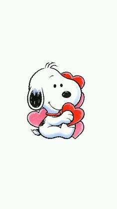 New Wallpaper Iphone Disney Minnie Valentines Day Ideas Baby Snoopy, Snoopy Love, Charlie Brown And Snoopy, Snoopy Wallpaper, Cartoon Wallpaper Iphone, Cute Cartoon Wallpapers, Valentines Day Wallpaper Phone Wallpapers, Peanuts Cartoon, Peanuts Snoopy
