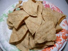 Clean Eating Tortilla Chips NO OIL!!!
