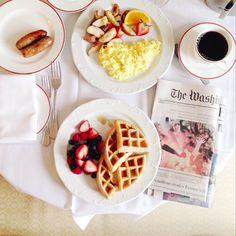 13 Breakfast Shots To Inspire Your Morning #refinery29  http://www.refinery29.com/best-instagram-breakfasts#slide14
