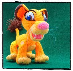 (4) Name: 'Crocheting : Simba (FREE pattern)