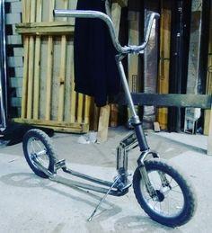 Folding kickscooter Bicycle Sidecar, Scooter Bike, Kick Scooter, Moto Bike, Mini Bici, Drift Trike Motorized, Lowrider Bicycle, Pocket Bike, Push Bikes