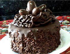 Mini bolo de páscoa ninho do coelhinho - Ideal Receitas