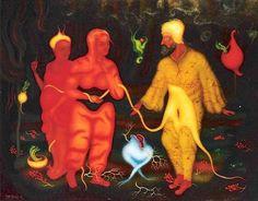 History of Art: Arik Brauer Anton, Rudolf Hausner, Robin, Vienna, Austria, Art Art, Type, Christmas Ornaments, History