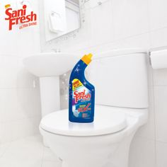 """10x Shine!!: """"That's the power of Sanifresh 10x!!"""".   Hit 'like' if you're a smart homemaker"""