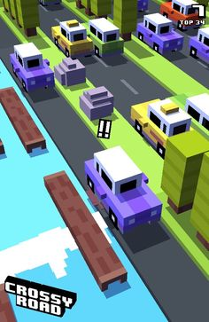 I get run over so many times in crossy road