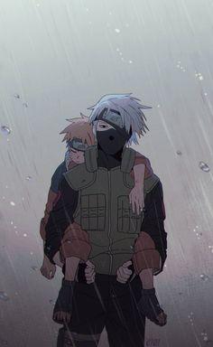   Save & Follow   Naruto Uzumaki • Kakashi Hatake