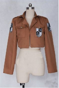 Vicwin-one Attack on Titan Stationary Guard Coat Cosplay Costume * More info could be found at the image url.
