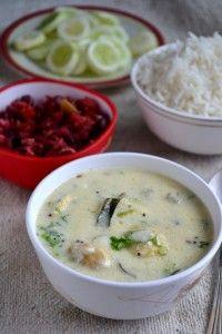 Maharashtrian Kadhi with Besan Bhajia - Gayathri's Cook Spot