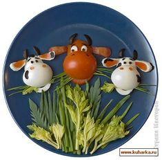 Tutorial para hacer vaquitas de huevo y tomate.
