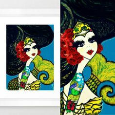 TENDRE SENS - Sealove Serie  Traditional Art \ Drawings \ Illustration \ Surreal ©2016 Final Edition. ☝#ilustracion #arte #dibujos #drawning #art #migaleria #drawn #fullcolor #finaledit #finaledition #sirena #sirenas #sealove #serie #conceptual #illustration