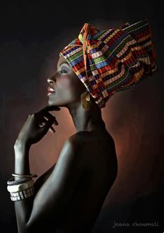 African models, dark skin, beautiful skin, black models.  African culture.