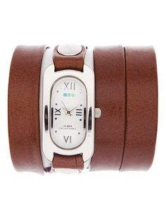 my wrists are so small, I love this idea for a watch. More braclet-y so it looks like it is supposed to be loose.