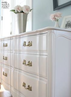 Silky Smooth French Provincial Dresser 6