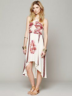 Place Print Halter Dress in clothes-dresses