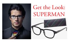 Get the Look: Superman! Feeling #Super? Check out our Combo Horn Rim Frames, only $24