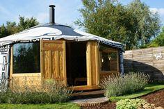 beautiful yurt, just in your backyard