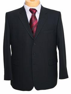 c2c5cf8d Jonathon Charles Mix and Match Black Jacket -Big and Tall Menswear,Large  mens clothes